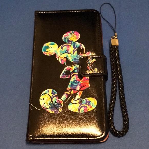 sale retailer f484a e16ea NEW iphone 8 Plus wallet case Mickey Mouse. A113